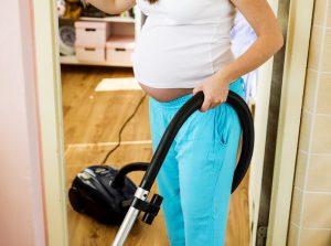 Putzen in der Schwangerschaft