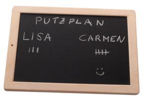 Putzplan erstellen - wichtige Tipps