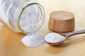 Mit Salz putzen