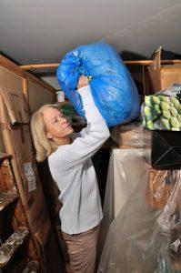 Keller aufräumen und putzen
