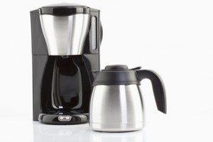 Thermoskanne reinigen, Kaffee und Tee Flecken entfernen