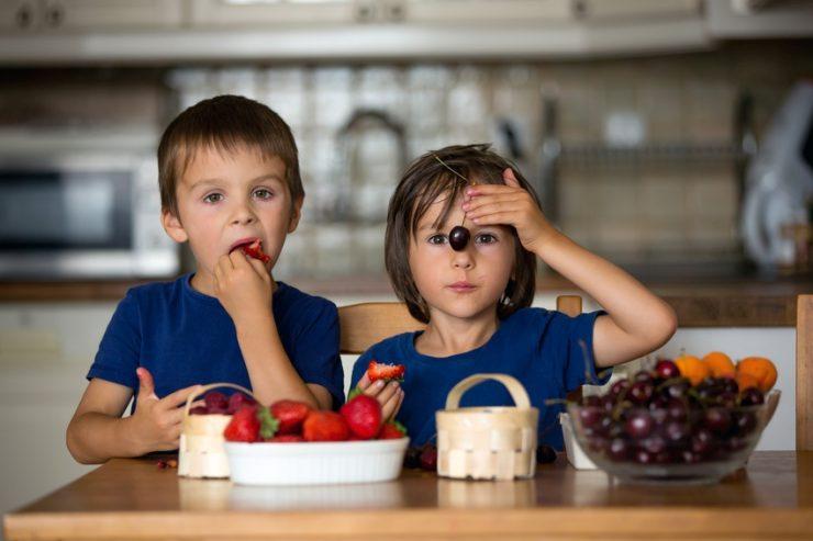 Obstflecken entfernen