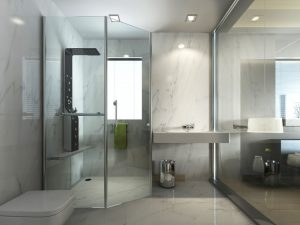 Duschkabine aus Glas reinigen