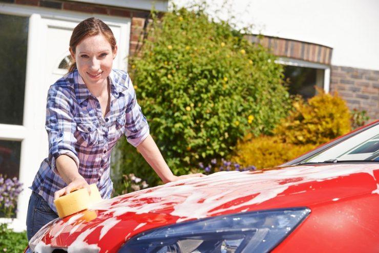 Auto putzen - innen und außen