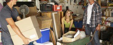 Garage aufräumen und putzen