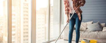 Linoleum reinigen und pflegen